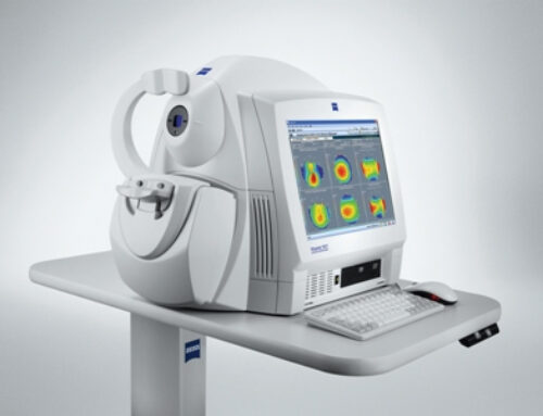 We Are Now Doing Optical Coherence Tomography (OCT) Scans In Store Now.